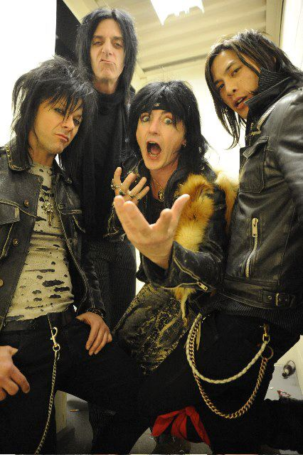 New lineup of L.A. Guns. Photo credit: L.A. Guns official Facebook page.