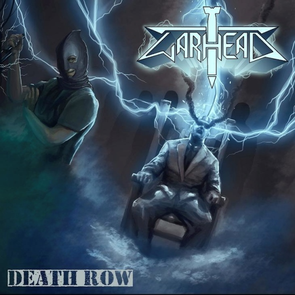 "Warhead ""Death Row"" Album Cover"