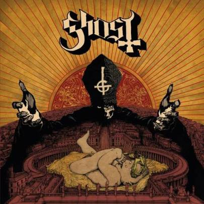 Ghost B.C.'s sophomore release. Photo from Ghost B.C.'s official website.